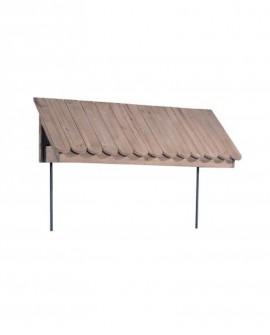 TETTO PER MOBILE HÉRITAGE modello 48083 lungh. 119 x prof. 40 x alt. 42 - RET Mobili in legno