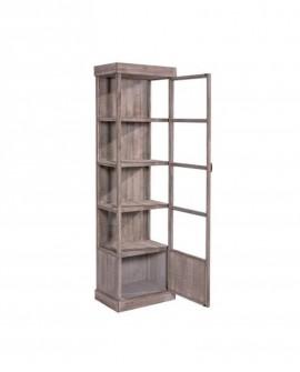 VETRINA LEGNO A COLONNA HÉRITAGE  lungh. 59 x prof. 39 x alt. 200 - RET Mobili in legno
