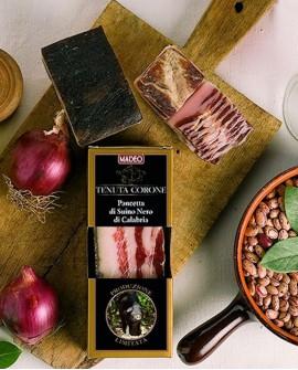 Pancetta di Suino Nero di Calabria 1,5 kg Salumificio Madeo