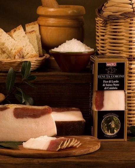 Fiordilardo di Suino Nero di Calabria 1,5 kg Tenuta Corone - Salumificio Madeo