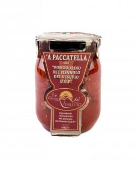 'A paccatella con Pomodorino del Piennolo del Vesuvio DOP - in vetro da 520 gr - Le Gemme del Vesuvio