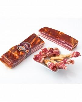 Pancetta di Calabria D.O.P. piccante 3 kg Tenuta Corone - Salumificio Madeo