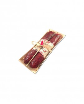 La Doppietta Calabra piccante confezione regalo 350 gr - Salumificio Madeo