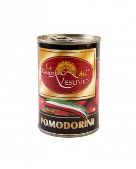 Pomodorini di collina - Banda stagnata smaltata da 400 gr - Le Gemme del Vesuvio