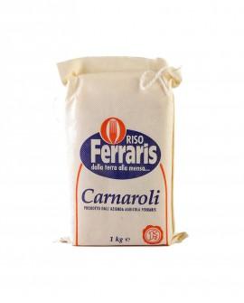 Riso Carnaroli - Sottovuoto in sacco da 1 kg - Le Gemme del Vesuvio