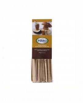Tagliatelle funghi porcini - pasta secca ai gusti 250 gr - Pastificio Pirro