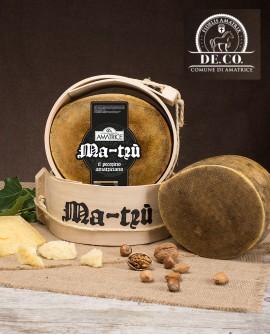 Pecorino amatriciano stagionato Ma-Trù 2,3 kg grattugia De.Co. - Caseificio Storico Amatrice