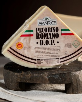 Pecorino Romano DOP in ottavi SV 3,5 kg - Caseificio Storico Amatrice