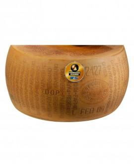 1/2 Forma SV taglio verticale Parmigiano Reggiano DOP classico 22-24 mesi - 19 kg - Montanari & Gruzza