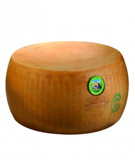 Forma intera Parmigiano Reggiano DOP BIOLOGICO classico 20-22 mesi - 38 kg - Montanari & Gruzza