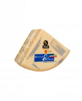 1/8 Forma SV Parmigiano Reggiano DOP classico mezzano rigato 13-14 mesi - 4,7 kg - Montanari & Gruzza