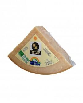 1/8 Forma SV Parmigiano Reggiano DOP BIOLOGICO classico 20-22 mesi - 4,7 kg - Montanari & Gruzza