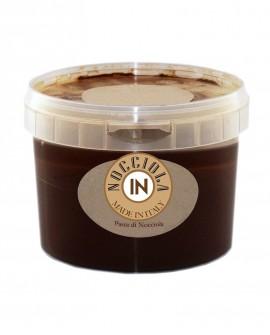 Pasta di nocciola scura - secchiello 5 kg - Nocciola IN