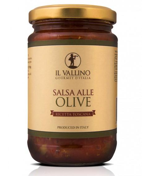 Salsa alle Olive 290 g - Il Vallino
