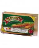 Wustelli Classic puro suino SV 11 Pz. - freschi da 70 g senza pelle - 700 g - Castelli Salumi