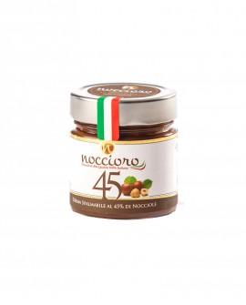 Noccioro 45 crema spalmabile di nocciole - vasetto 250g - Noccioro
