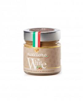 Noccioro White crema spalmabile di nocciole Bianca - vasetto 250g - Noccioro