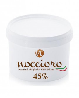 Noccioro 45% crema spalmabile di nocciole - secchiello 6kg - Noccioro