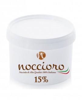 Noccioro 15% crema spalmabile di nocciole - secchiello 6kg - Noccioro