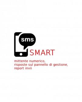 200 SMS SMART da inviare, piattaforma Gustox SMS