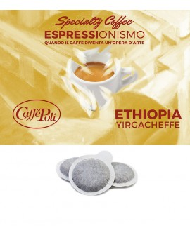 Cialda carta - Speciality Coffee Ethiopia Yirgacheffe - Confezione da 150 pezzi - Caffè Poli
