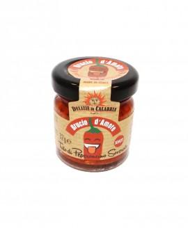 Trito di Peperoncino Soverato XHOT - Brucio d'amore - 32 g - Delizie di Calabria