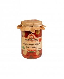 Peperoncini ripieni con Tonno - 270 g - Delizie di Calabria