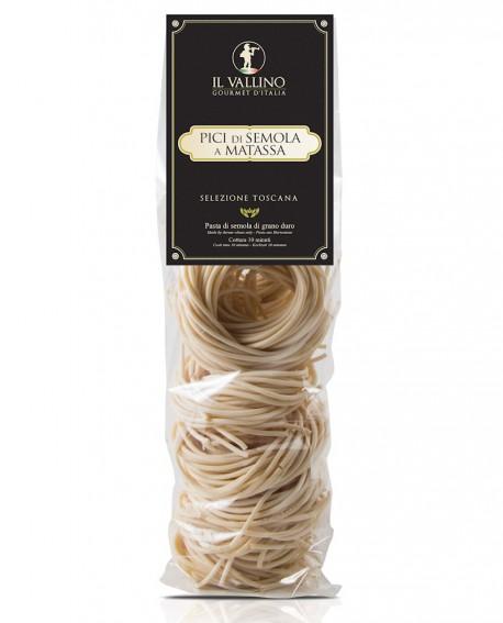 Pici di Semola a Matassa - pasta di semola 500 g - Il Vallino