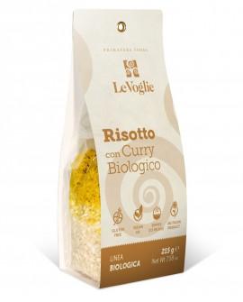 Risotto con Curry Biologico senza glutine - 215g linea gourmet - Le Voglie - Primavera Foods
