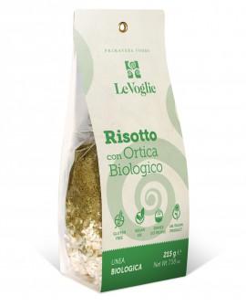 Risotto con Ortica Biologico senza glutine - 215g linea gourmet - Le Voglie - Primavera Foods
