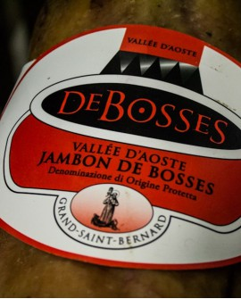 Jambon DOP - Disossato Pressato 6,8 kg stagionatura 16 mesi - De Bosses