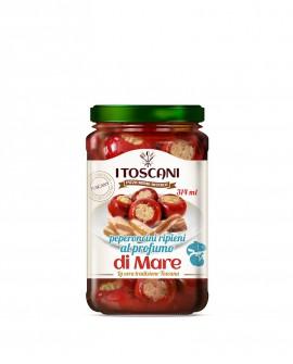 Peperoni farciti al tonno - 314 ml - Agrifood Toscana