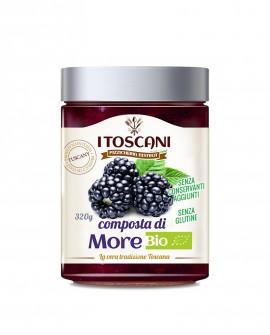 Composta di more BIO senza glutine - 320 gr - Agrifood Toscana