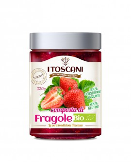 Composta di fragole BIO senza glutine - 320 gr - Agrifood Toscana