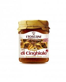 Ragù di cinghiale senza glutine - 180 gr - Agrifood Toscana