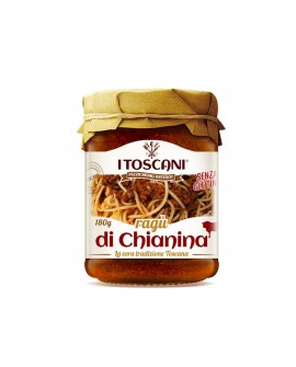 Ragù di chianina senza glutine - 180 gr - Agrifood Toscana