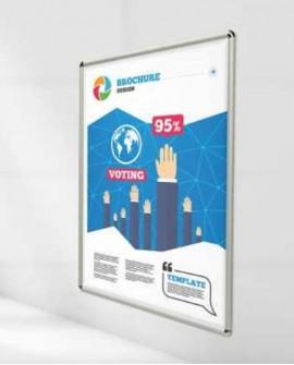 Cartello 100x140 indoor per 30 GIORNI Parcheggio Mercato Coperto Perugia