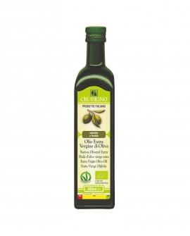 Olio Extra Vergine di Oliva Biologico estratto a freddo 100% italiano - 500 ml - Crudigno