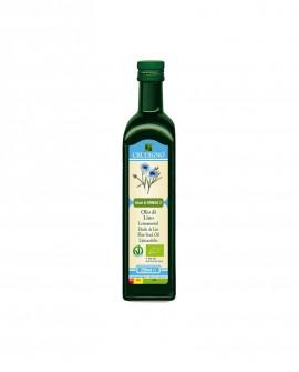 Olio di semi Lino spremuto a freddo - 250 ml - Crudigno