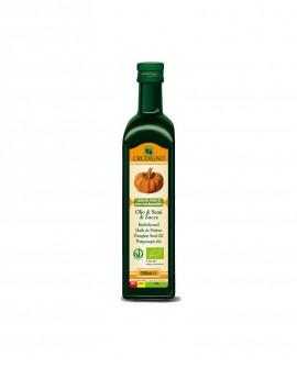 Olio di semi di Zucca spremuto a freddo - 250 ml - Crudigno