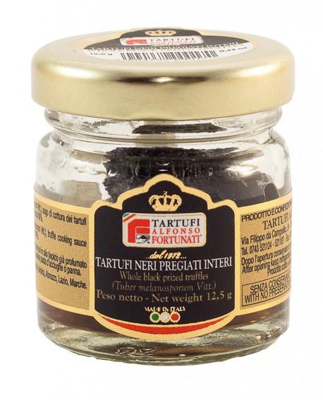 Tartufo Nero Pregiato Intero (Extra) 12,5 g, in vasetto di vetro - Tartufi Alfonso Fortunati