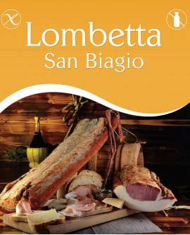 Lombetta San Biagio intera 2,5 Kg stagionatura 3 mesi - Salumi Grufà