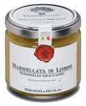 Marmellata di Limone Femminello Siracusano - vasetto di vetro 212 - 225 g - Frantoi Cutrera Segreti di Sicilia