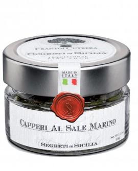 Capperi al Sale Marino - vasetto di vetro 212 - 150 g - Frantoi Cutrera