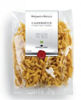 CASARECCE pasta di grano duro Tumminia Siciliano BIO - Sacchetto 500 g - Frantoi Cutrera Segreti di Sicilia