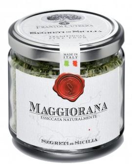 Maggiorana - vasetto di vetro - 30 g - Frantoi Cutrera Segreti di Sicilia