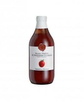 Salsa pronta di Pomodoro Ciliegino - bottiglia di vetro 33 ml - Frantoi Cutrera Segreti di Sicilia