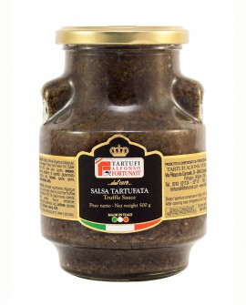 Salsa Tartufata 500 g, in vasetto di vetro - Tartufi Alfonso Fortunati