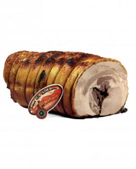 Tronchetto in porchetta cotto in forno a legna - SV - 10 kg - Sapori della Valdichiana