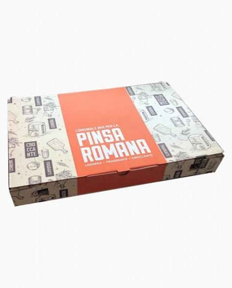 Scatola contenitore per asporto Pinsa Romana - 23x36x4cm - n.200 pezzi per cartone